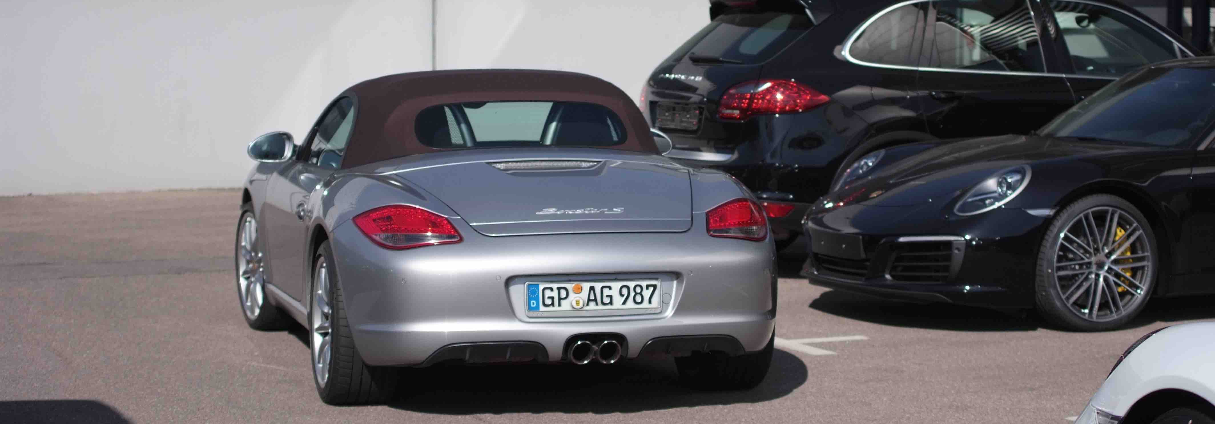 Annonces Porsche occasion modele Boxster type 987 phase 2