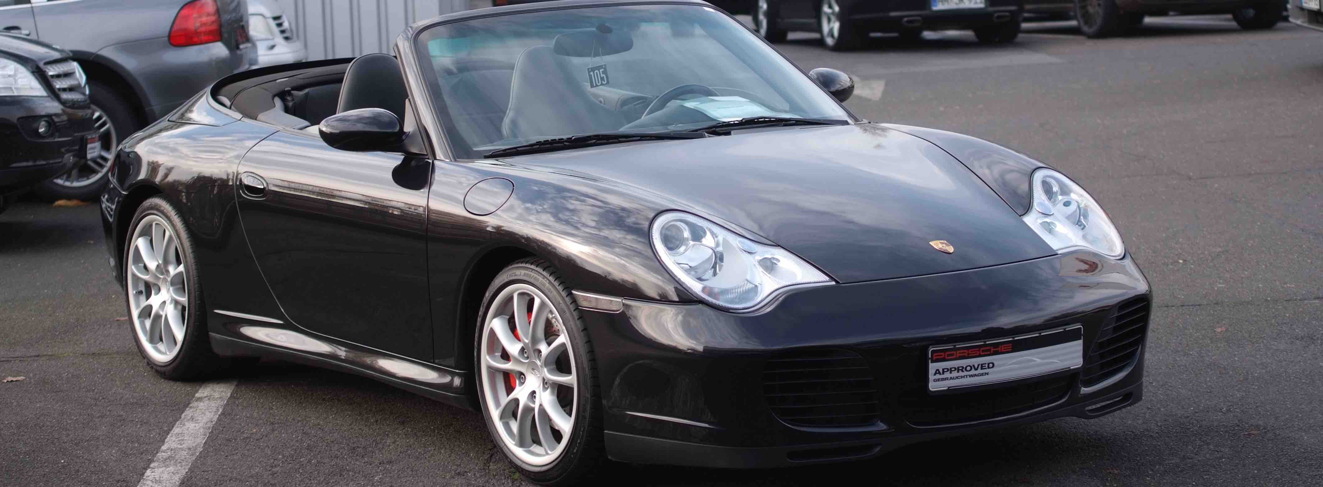 Options Porsche occasion 996 3l6 carrera