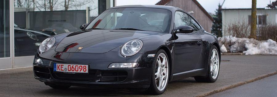 Annonces occasion Porsche 911 type 997 Carrera S coupe phase 1 355 cv