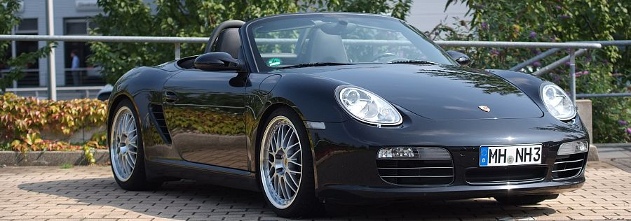 Cote personnalisee Porsche modele Boxster type 987 phase 1