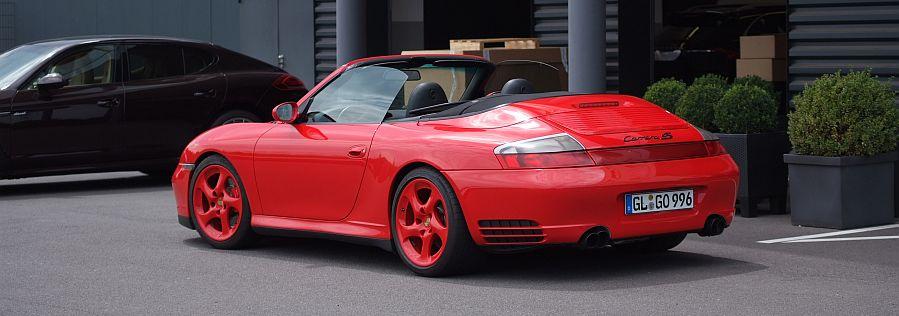 Annonces occasion Porsche 911 type 996 4S cabriolet