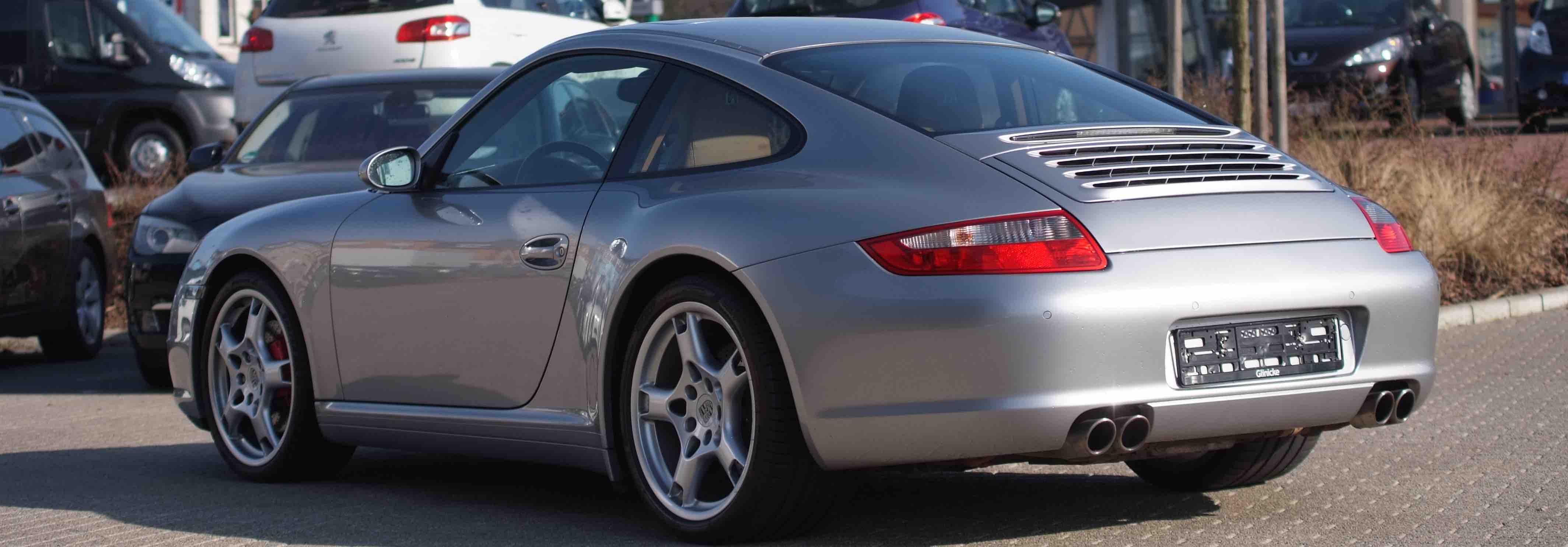 Porsche occasion 997 c4s coupe phase 1 Argent