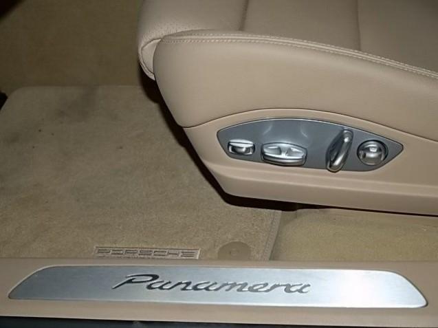 Equipement de s rie panamera v6 stuttgart automobile magazine - Baguette seuil de porte ...