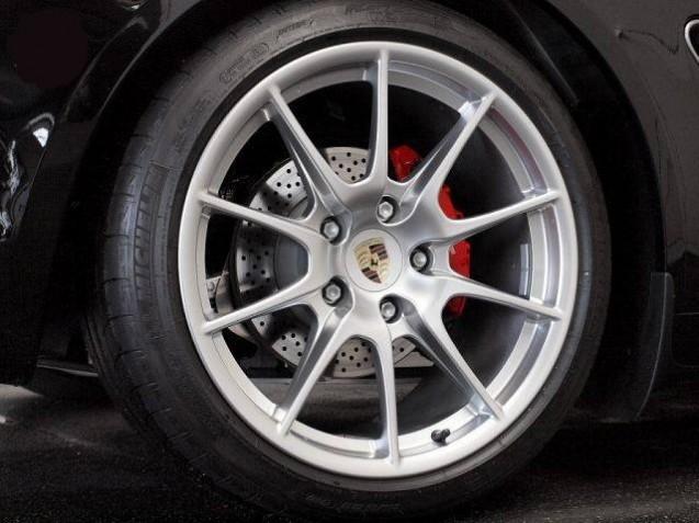Ja 19 P Boxster Spyder peintes en Noir