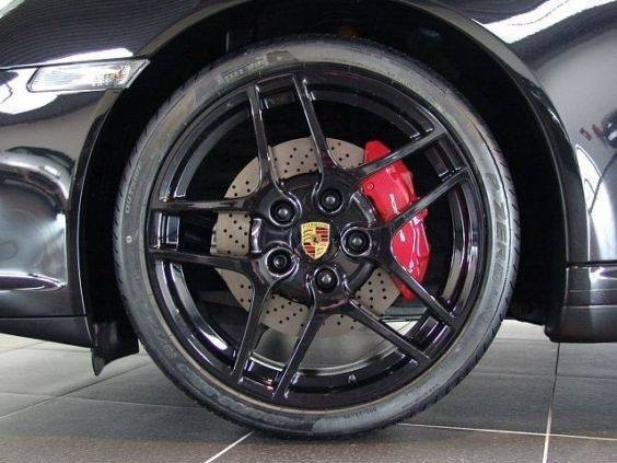 Bjantes Peintes En Noir Basalte Metallise on Porsche 997 Gt3
