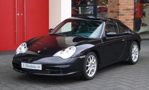 Photo Porsche 996 Targa