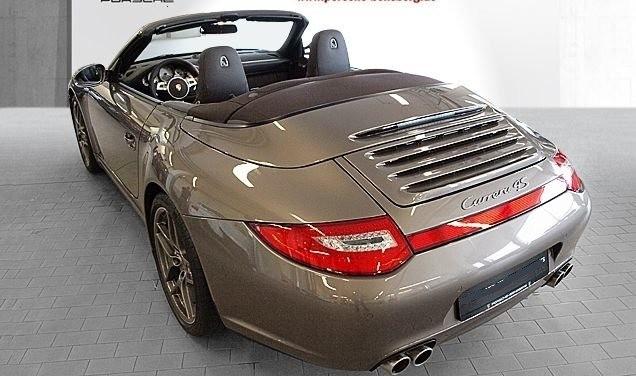 Photo Porsche 997 4S cabriolet