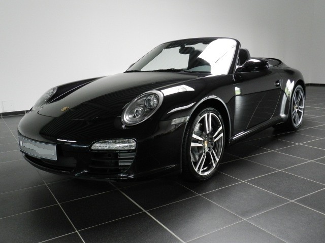Photo Porsche 997 Black Edition cabriolet