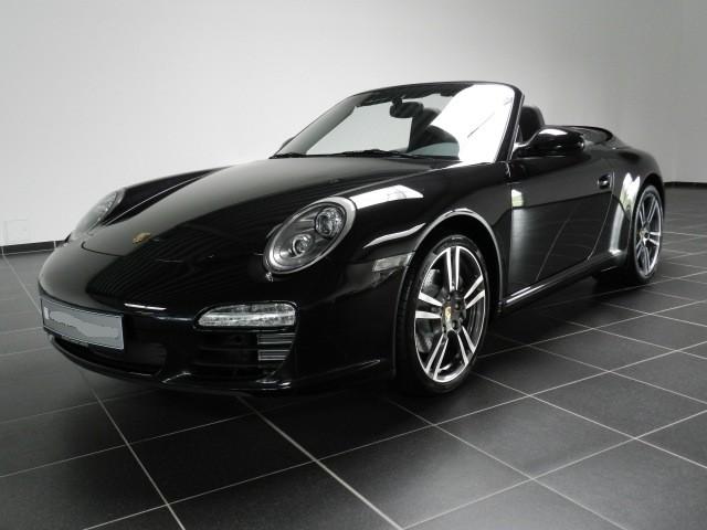 Photo Porsche 997 Black Edition cabriolet