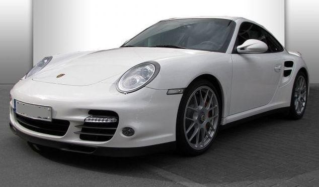 Photo Porsche 997 Turbo phase 2 Blanc Carrara