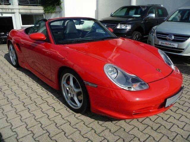 Photo Porsche Boxster 986 S Rouge Indien