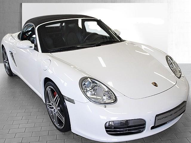 Photo Porsche Boxster 987 Phase 1 Blanc Carrara
