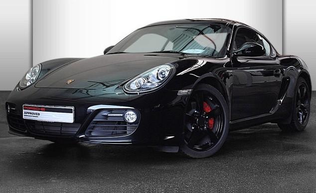 Photo Porsche Cayman S Black Edition