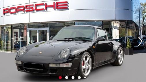 Porsche 993 285 cv coupe