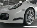 Photo bouclier Porsche Cayman R avec diodes.