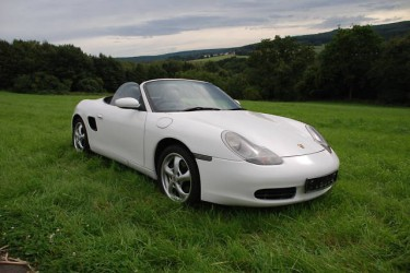 Photo Boxster 986 Blanc Carrara