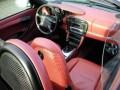 Photo Boxster 986 intérieur cuir Rouge