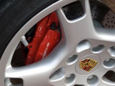 Photo bandes latérales Porsche Cayman S 295 cv