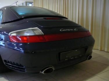 Photo double sortie echappement Porsche 996 4S cabriolet
