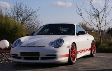 Photo Porsche 996 GT3 phase 2 381 cv Blanc Carrara