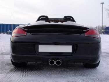 Photo Boxster Spyder Gris Arctique