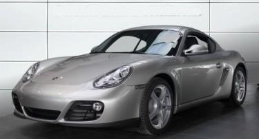 Photo Porsche Cayman 2.9 platine