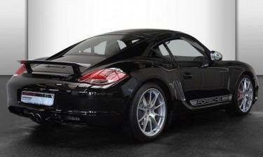 Photo Porsche Cayman R Vert Péridot
