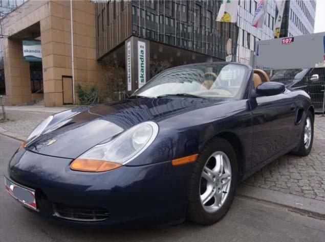 cote personnalisee Porsche Boxster 986