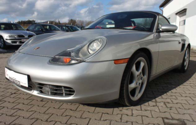 cote personnalisee Porsche Boxster 986 phase 1