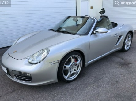 options Porsche Boxster 987 phase 1