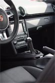 Porsche Cayman S Black Edition interieur
